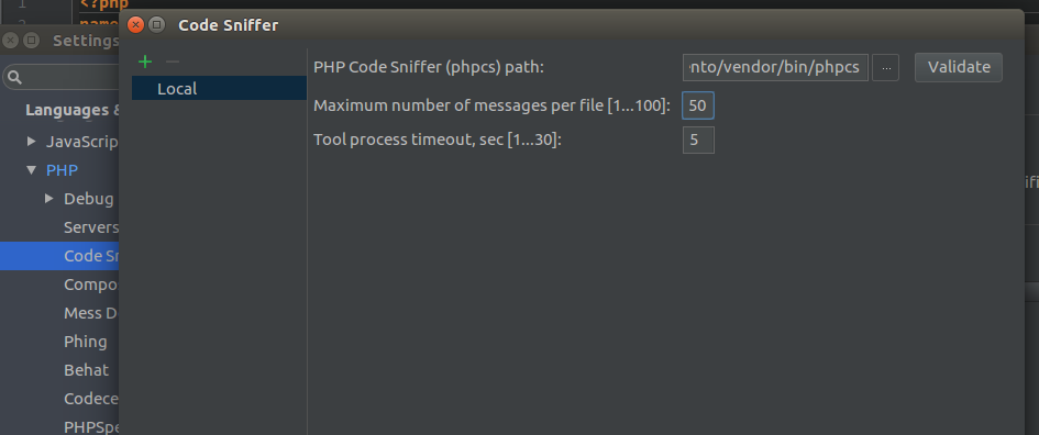 PHPCS . The step-by-step guide to set up PhpStorm for Magento 2