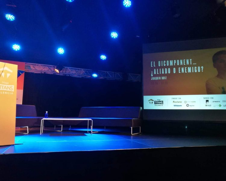 MageTitans España 2018. The UI Component… Ally or Enemy?